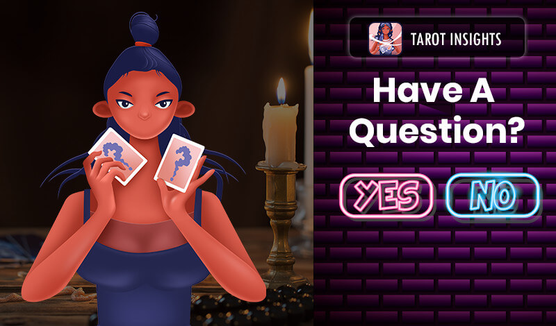 Question With Yes or No Tarot Card